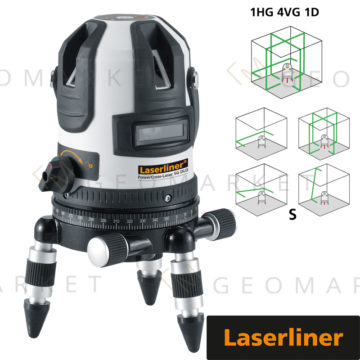 Laser liniowo-krzyżowy Laserliner PowerCross-Laser 5G