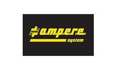 Logo marki Ampere