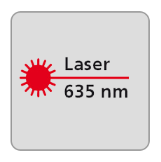 Długość fali lasera 635nm, laser czerwony