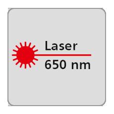 Długość fali lasera 650nm, laser czerwony