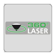 Technologia 360° laser zielony Laserliner