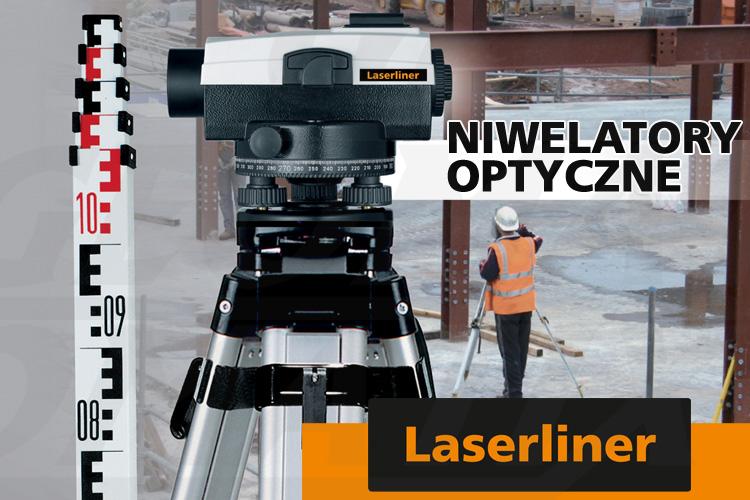 Laserliner seria AL Plus niwelatory optyczne