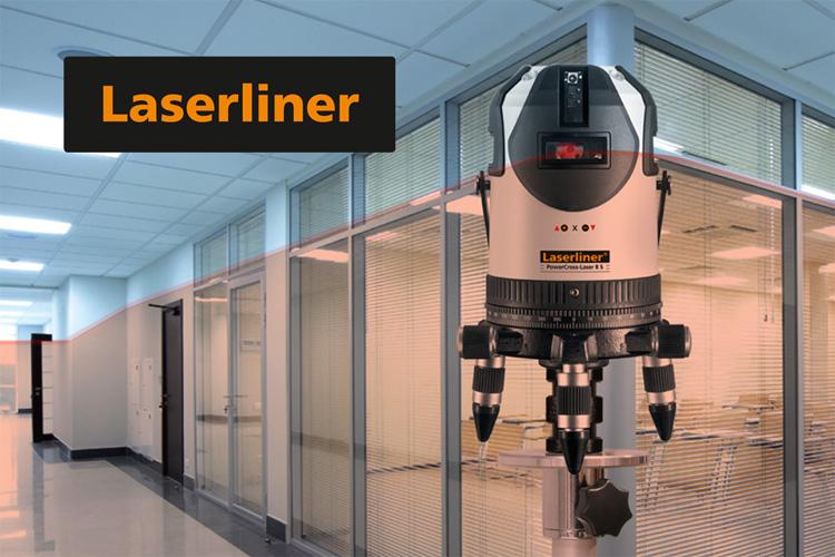 Lasery liniowe, krzyżowe, płaszczyznowe Laserliner