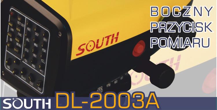 Niwelator kodowy, niwelator cyfrowy SOUTH DL-2003A Hot Button, boczny przycisk pomiaru