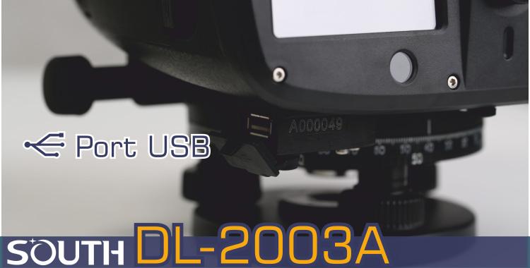 Niwelator kodowy, niwelator cyfrowy SOUTH DL-2003A port USB