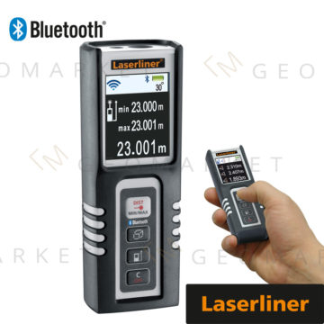 Dalmierz laserowy Laserliner DistanceMaster Compact Pro 50m Bluetooth