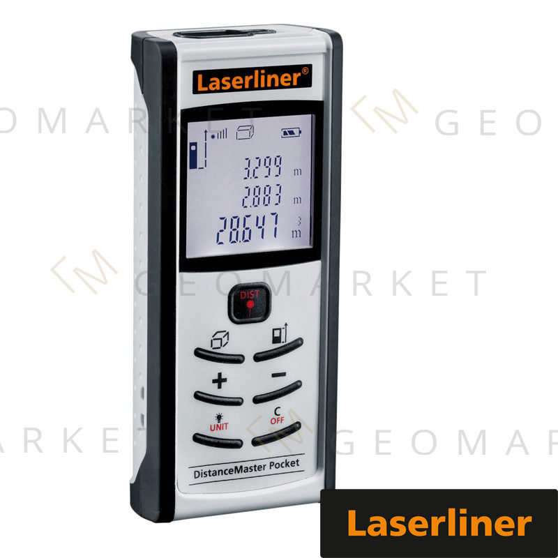 Dalmierz laserowy Laserliner DistanceMaster Pocket 50m