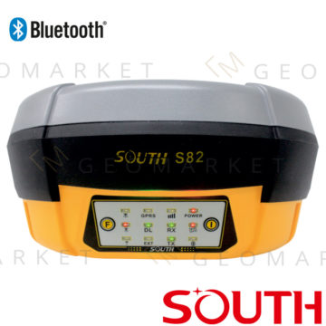 Odbiornik GPS GNSS RTK South S82 8mm+1ppm Bluetooth GPRS/GSM
