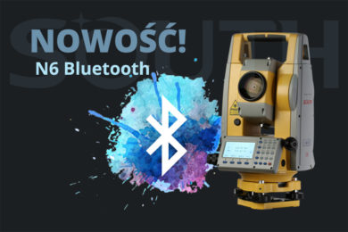 Nowość! Tachimetr South N6 Bluetooth