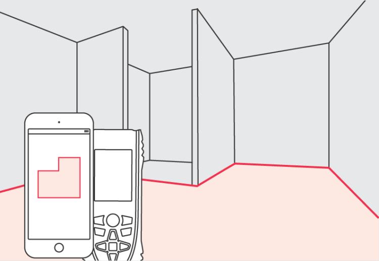 Funkcja Smart Room - Dalmierze Leica DISTO™