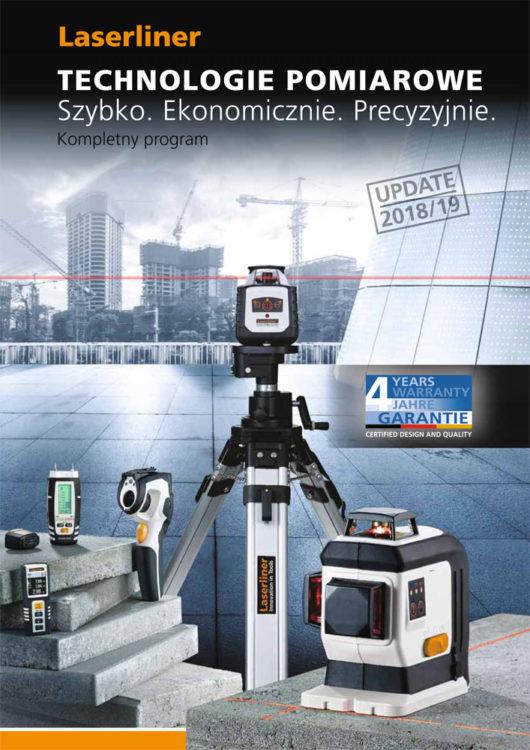 Katalog Laserliner 2018/2019 strona tytułowa