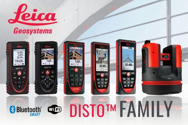 Leica DISTO Family dalmierze laserowe