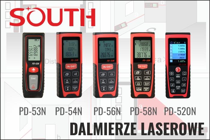 Dalmierze laserowe South