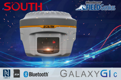 Odbiornik GPS GNSS RTK South Galaxy G1C 8mm+1ppm Bluetooth