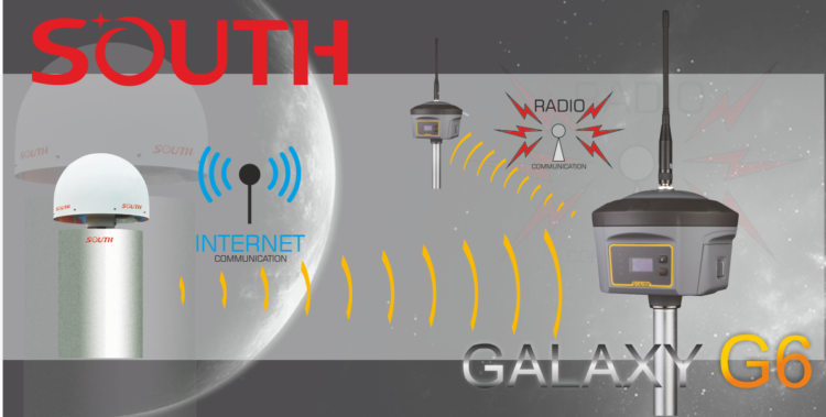 Router radiowy - GPS GNSS RTK Galaxy G6 South