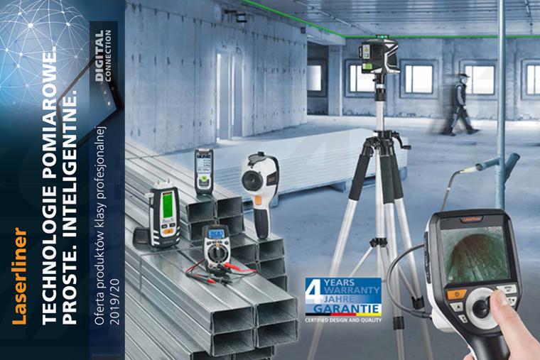 Katalog Laserliner BlackLine 2019/2020 - Profesjonalne rozwiązania pomiarowe dla budownictwa