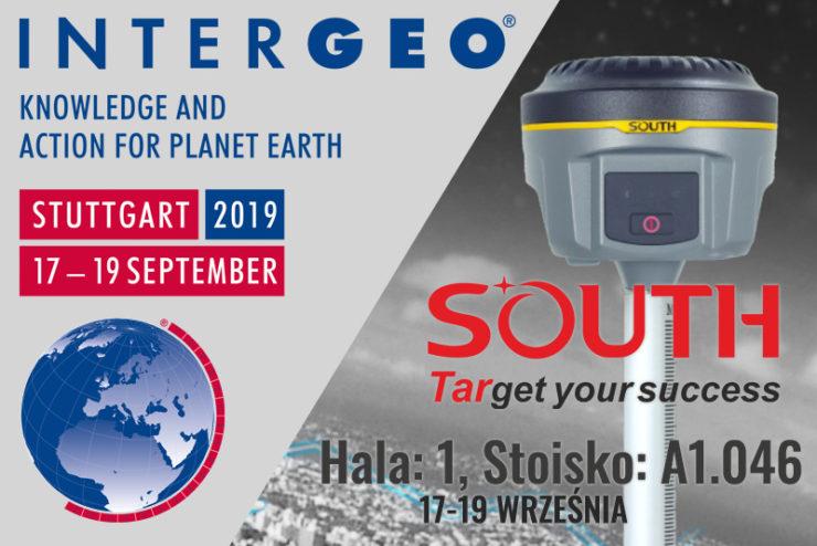 SOUTH na targach INTERGEO 2019