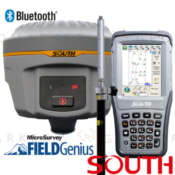 Odbiornik GPS GNSS RTK South Galaxy G1 S 8mm+1ppm Bluetooth zestaw