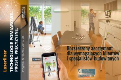 Katalog produktów Laserliner 2019-2020 - Sprzęt pomiarowy dla wymagających klientów i specjalistów budowlanych