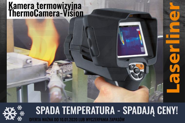 Promocja nakamety termowizyjne Laserliner - oferta ważna do 10 stycznia 2020 lub wyczerpania zapasów
