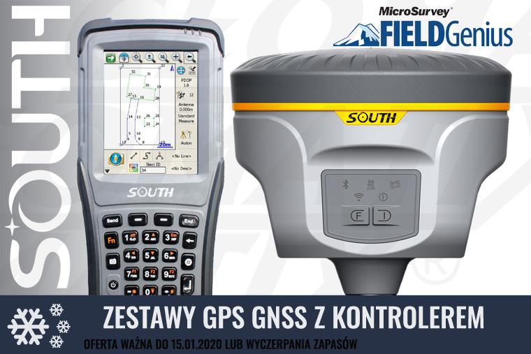 Promocja! Zestawy GPS GNSS marki SOUTH! Oferta specjalna ważna do 15 stycznia 2020 lub wyczerpania zapasów