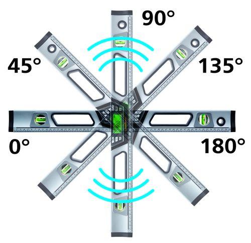 081.21xA Laserliner DigiLevel Pro Funkcja AutoSound