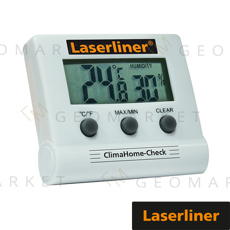Termometr Laserliner ClimaHome-Check cyfrowy z higrometrem