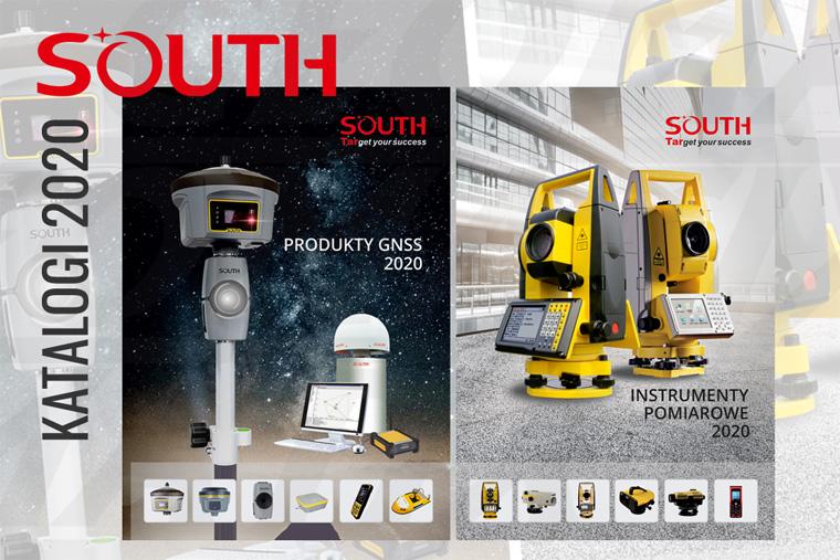 Geodezyjne Instrumenty Pomiarowe South Katalogi 2020