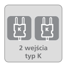 2 wejścia typ K