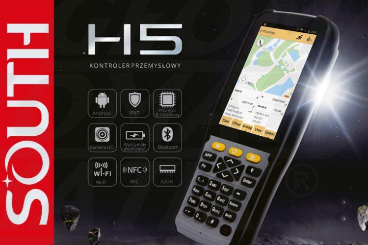 Nowość! Przemysłowy kontroler geodezyjny South H5 z systemem Android 8.1