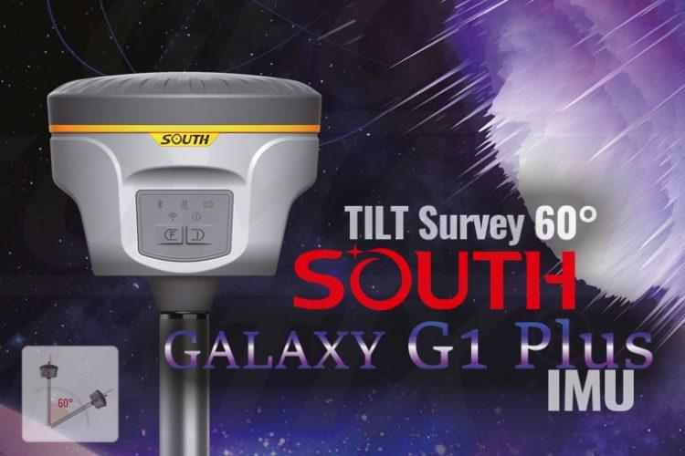 Nowość! South Galaxy G1 Plus IMU, odbiornik geodezyjny z funkcją TILT Survey 60°