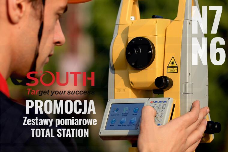 Promocja zestawów pomiarowych Total Station South - czerwiec 2020