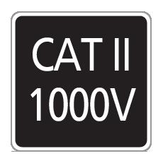CAT II 1000V
