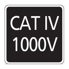 CAT IV 1000V