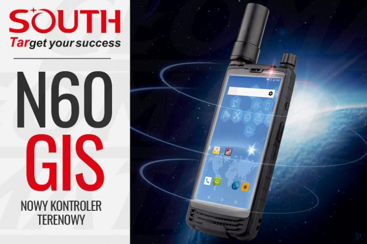 Nowy kontroler terenowy South N60 do GIS i RTK