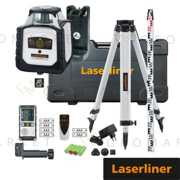 Laser rotacyjny Laserliner Cubus G 210 S Set 150cm + łata i statyw