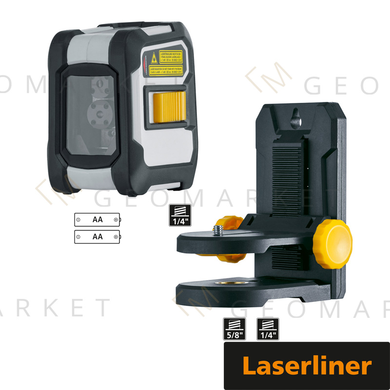 Laser liniowo-krzyżowy Laserliner CompactCross-Laser Plus Bluetooth