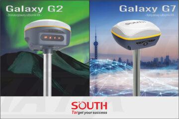 Nowe odbiorniki GPS GNSS South G2 i G7! Już wkrótce!